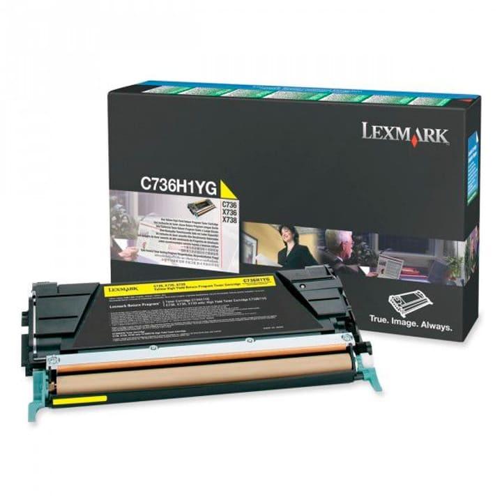 HY return gelb Toner-Modul Lexmark 785300124477 Bild Nr. 1