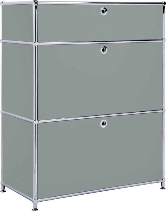 FLEXCUBE Sideboard 401814710280 Grösse B: 77.5 cm x T: 40.0 cm x H: 100.0 cm Farbe Grau Bild Nr. 1