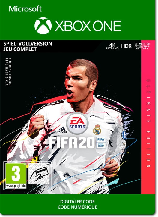 FIFA 20 - Ultimate Edition Download (ESD) 785300150439 N. figura 1
