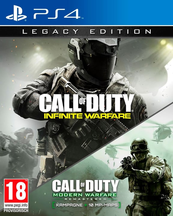 PS4 - Call of Duty 13: Infinite Warfare (Legacy Editinkl. MW1) Physique (Box) 785300121100 Photo no. 1
