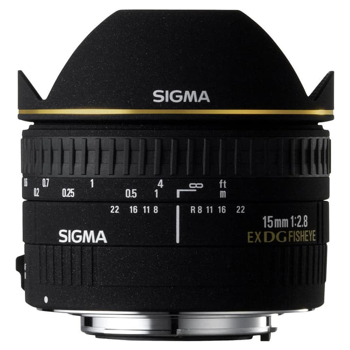 15mm/2.8 EX DG Diagonal Fisheye Canon Objectif Sigma 785300134969 Photo no. 1
