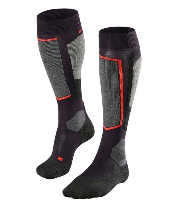 SK2 Chaussettes de ski pour femme Falke 497153137043 Couleur bleu marine Taille 37-38 Photo no. 1