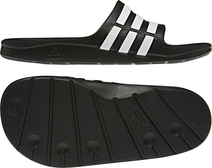 Duramo Slide Sandales pour enfant Adidas 460652531020 Couleur noir Taille 31 Photo no. 1