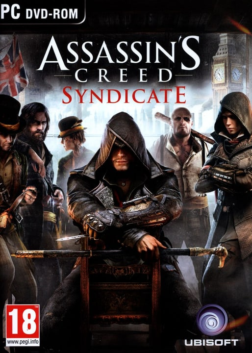 PC - Pyramide: Assassin's Creed Syndicate Box 785300129965 Photo no. 1