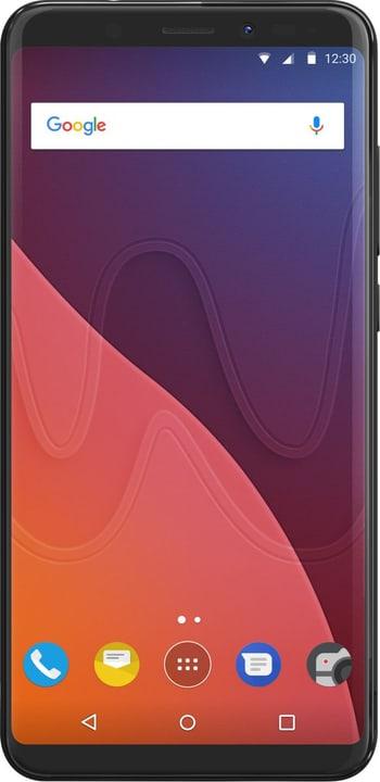 View (3+16GB) Dual SIM nero Smartphone Wiko 785300134321 N. figura 1