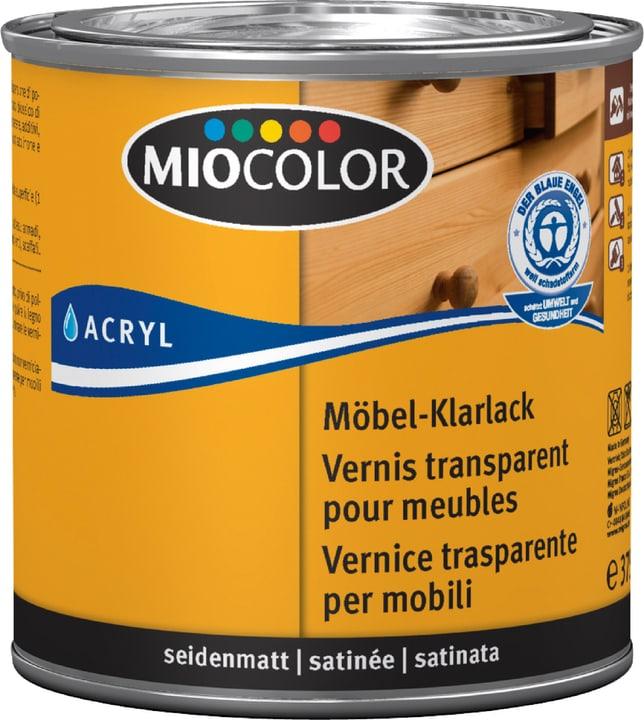 Vernice trasparente per mobili opaco Incolore 375 ml Miocolor 661181000000 Colore Incolore Contenuto 375.0 ml N. figura 1