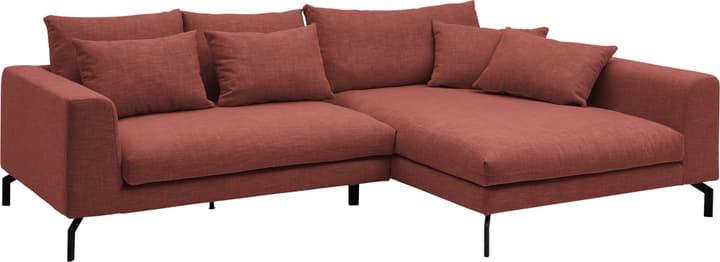 KRÄMER Divano ad angolo 405755600000 Colore Rosso Dimensioni L: 280.0 cm x P: 171.0 cm x A: 80.0 cm N. figura 1