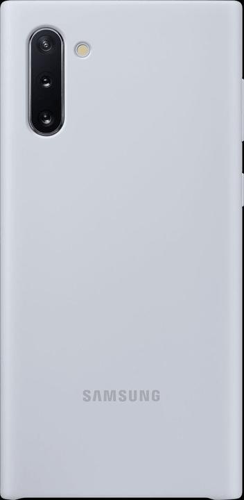 Silicone Cover silver Hülle Samsung 785300146400 Bild Nr. 1