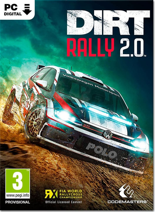 PC - DiRT Rally 2.0 Download (ESD) 785300140689 N. figura 1