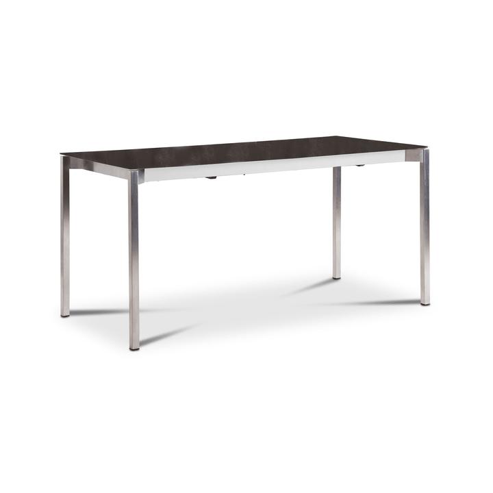 LUZON Table àrallonge 368031700000 Dimensions L: 150.0 cm x P: 90.0 cm x H: 75.0 cm Couleur Anthracite Photo no. 1