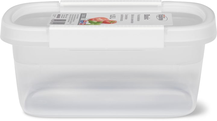 BASIC Frischhaltedose 1.5L M-Topline 703728000002 Farbe Weiss Grösse B: 15.0 cm x T: 22.0 cm x H: 9.6 cm Bild Nr. 1