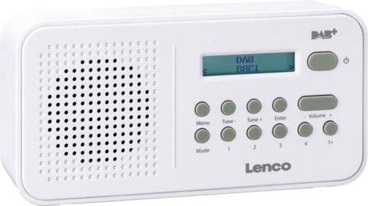 PDR-015 - Weiss DAB+ Radio Lenco 785300148655 Bild Nr. 1