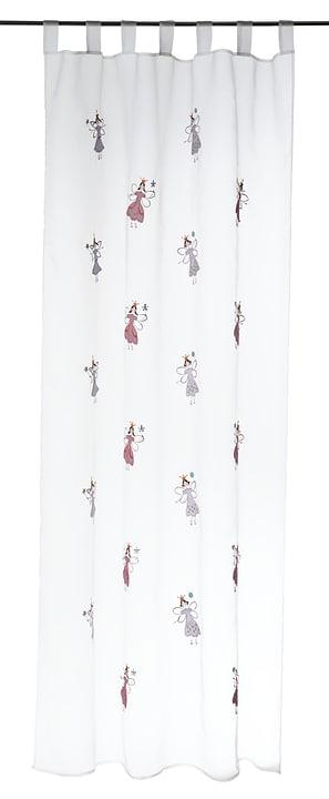 MARIETA Tag-Fertigvorhang 430249000010 Farbe Weiss Grösse B: 140.0 cm x T: 245.0 cm x H:  Bild Nr. 1