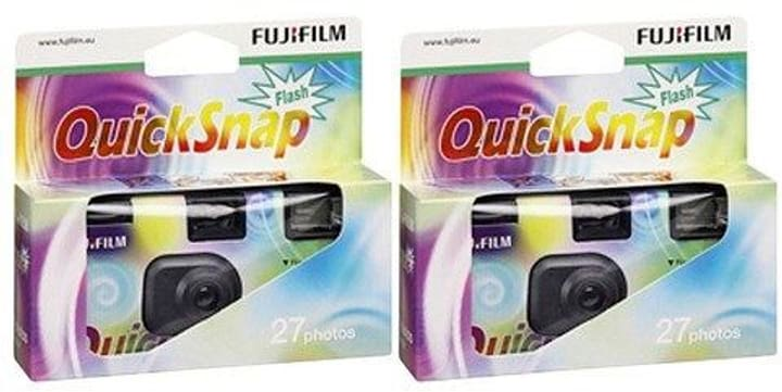 2 pièces Quicksnap Flash Appareil photo jetable FUJIFILM 785300123588