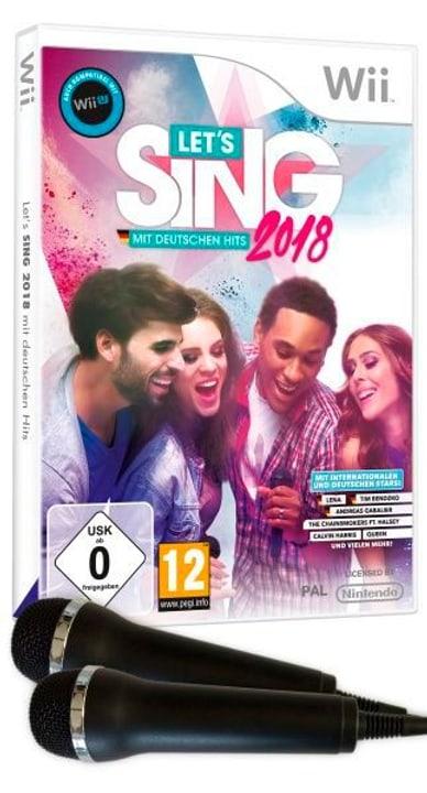 Wii - Let's Sing 2018 mit Deutschen Hits + 2 Mics Box 785300129722 Photo no. 1
