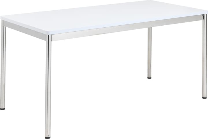 FLEXCUBE Bureau 401834600000 Dimensions L: 160.0 cm x P: 80.0 cm x H: 75.0 cm Couleur Blanc Photo no. 1