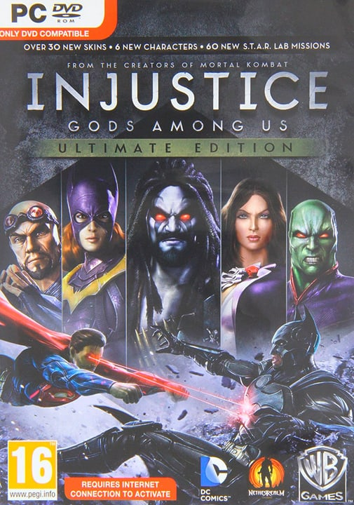 PC - Injustice Gods Among Us Ultimate Edition Digital (ESD) 785300133280 Bild Nr. 1