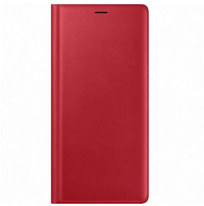 Leather View Cover rouge Coque Samsung 785300138247 Photo no. 1