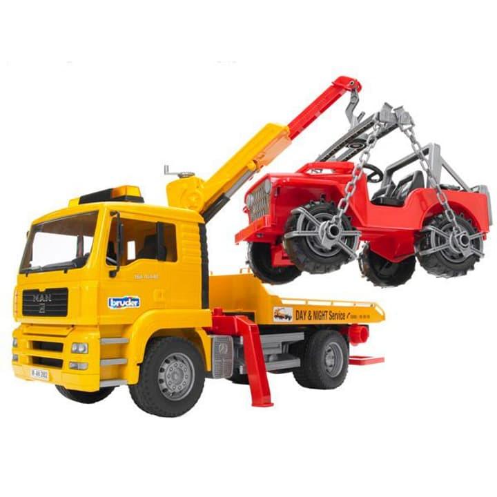 MAN TGA Camion de dépannage avec voiture tout-terrain 785300127853 N. figura 1