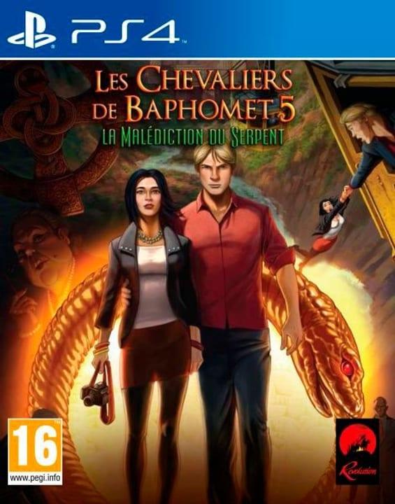 PS4 - Les Chevaliers de Baphomet 5: La Malédictdu Serpent 785300121972 Photo no. 1