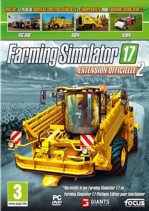 PC - Farming Simulator 2017 - Extension Officielle 2 (F) Fisico (Box) 785300132639 N. figura 1