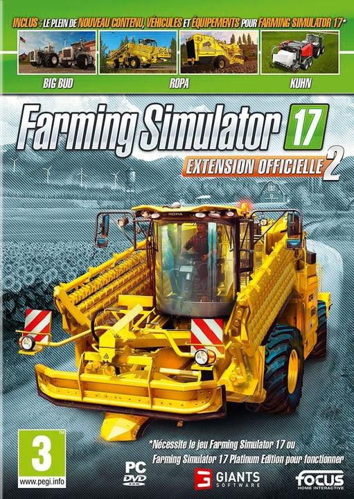PC - Farming Simulator 2017 - Extension Officielle 2 (F) Physisch (Box) 785300132639 Bild Nr. 1
