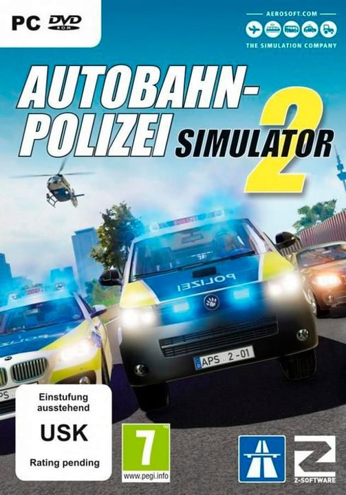 PC - Autobahn-Polizei Simulator 2 D Physique (Box) 785300130262 Photo no. 1