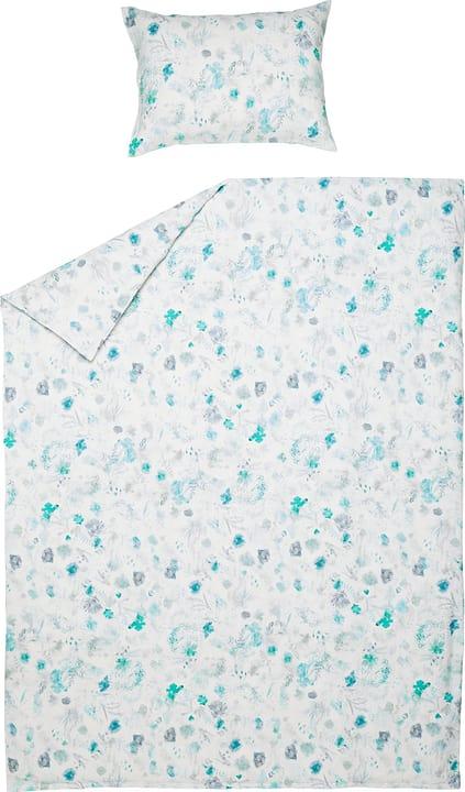 VEGA Taie d'oreiller en lin 451287810663 Couleur Vert Dimensions L: 65.0 cm x H: 65.0 cm Photo no. 1