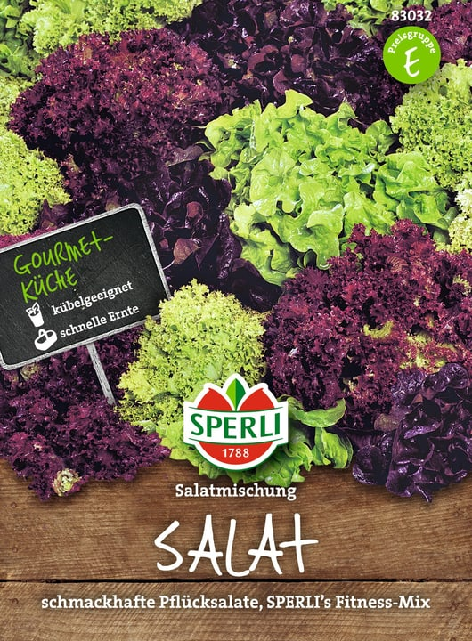 Pflücksalat Mix Fitness Mix Sementi di verdura Sperli 650154100000 N. figura 1
