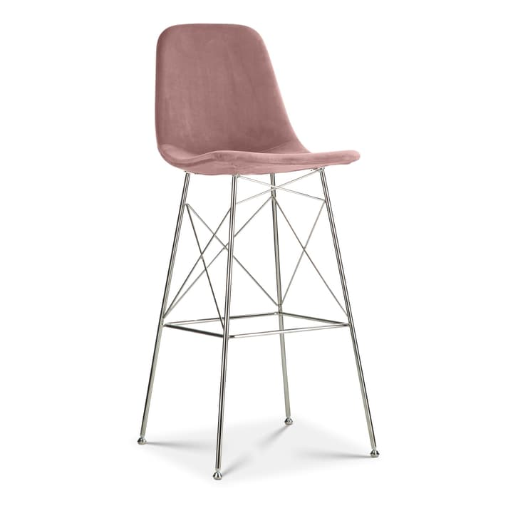 SEDIA Tabouret de bar 366190100000 Dimensions L: 47.0 cm x P: 48.0 cm x H: 119.0 cm Couleur Rose Photo no. 1