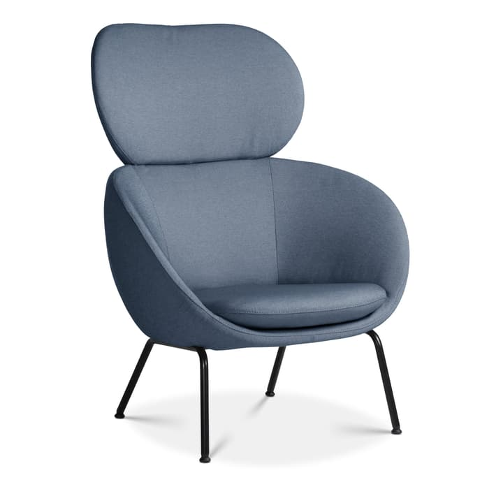 SAPO Fauteuil Edition Interio 360441107040 Dimensions L: 84.0 cm x P: 85.0 cm x H: 110.0 cm Couleur Bleu Photo no. 1