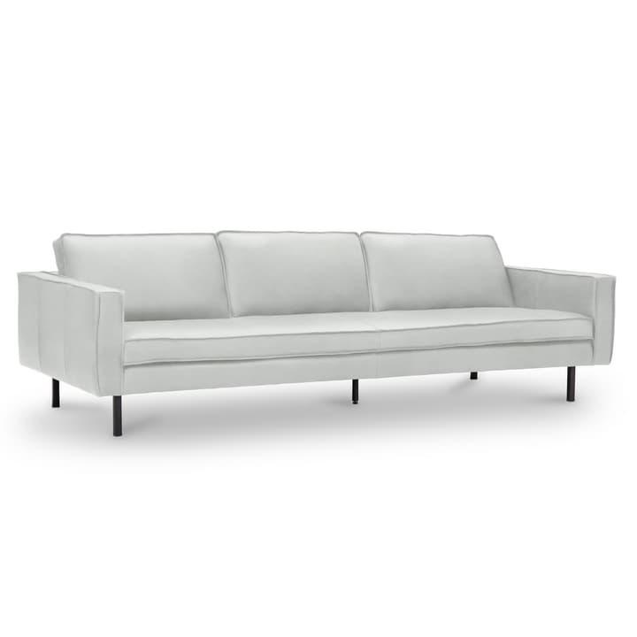 TEXADA canapé en cuir à 4 places 360020328709 Dimensions L: 241.0 cm x P: 95.0 cm x H: 61.0 cm Couleur Blanc Photo no. 1