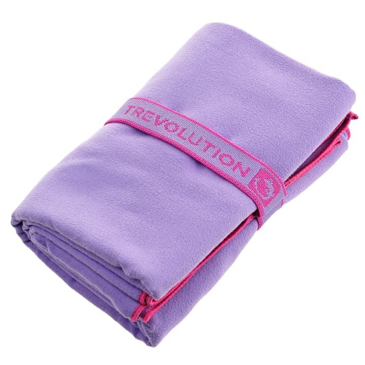 Asciugamano in fibra ultrafina Trevolution 464606800092 Colore lilla 2 Taglie Misura unitaria N. figura 1