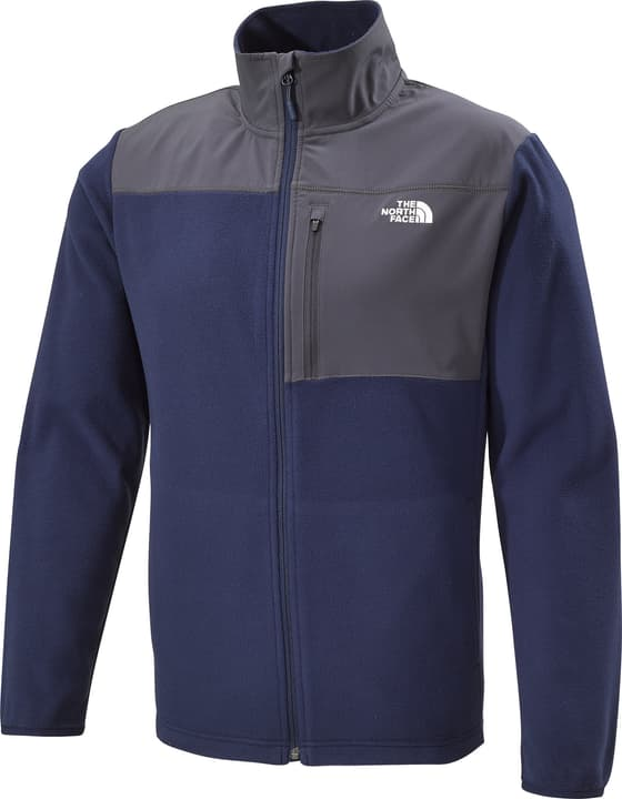 Paramont Delta Veste en polaire pour homme The North Face 465737200443 Couleur bleu marine Taille M Photo no. 1