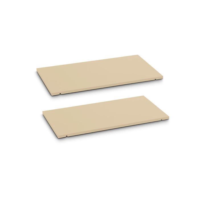 SEVEN Ripiano set da 2 60cm Edition Interio 362019447905 Dimensioni L: 60.0 cm x P: 1.4 cm x A: 35.5 cm Colore Marrone N. figura 1