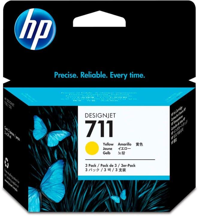 711 CZ136A  pack de 3 jaune Cartouche d'encre HP 795850000000 Photo no. 1
