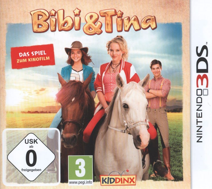 3DS - Bibi & Tina: Das Spiel zum Kinofilm Box 785300121558 Bild Nr. 1
