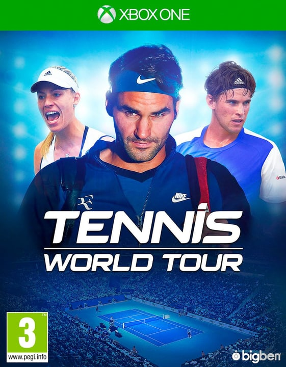 Xbox One - Tennis World Tour (D/F) Fisico (Box) 785300132951 Piattaforma Microsoft Xbox One N. figura 1
