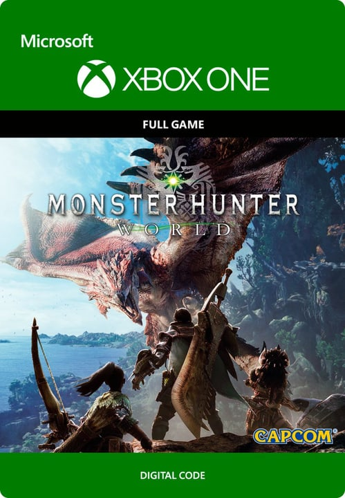 Xbox One - Monster Hunter: World Download (ESD) 785300135495 N. figura 1