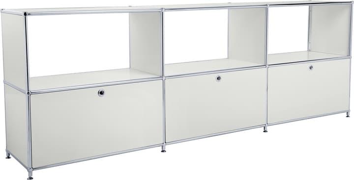 FLEXCUBE Sideboard 401814630281 Grösse B: 227.0 cm x T: 40.0 cm x H: 80.5 cm Farbe Hellgrau Bild Nr. 1