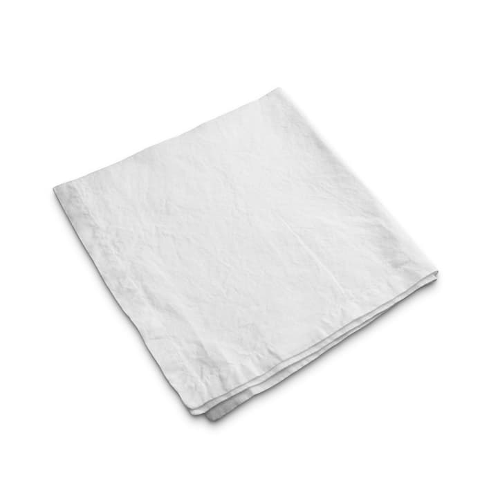 LINEN Serviette 378033900000 Couleur Blanc Dimensions L: 50.0 cm x P: 50.0 cm Photo no. 1