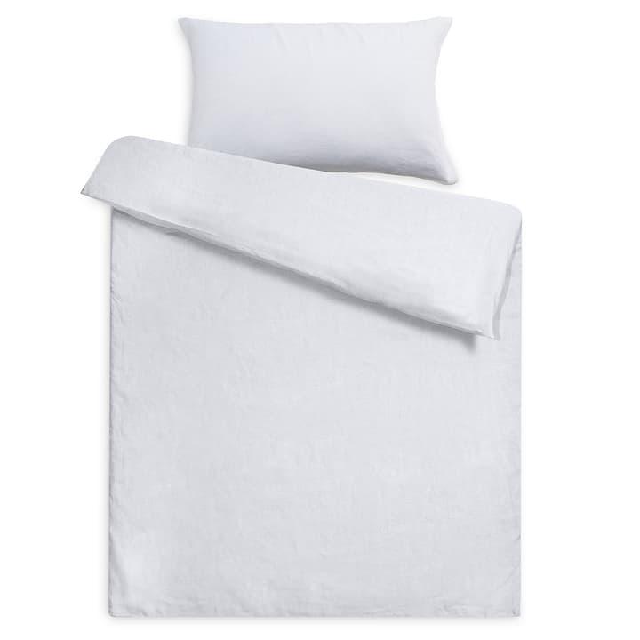 LINEN Federa per cuscino lino 376005429701 Colore Bianco Dimensioni L: 70.0 cm x L: 50.0 cm N. figura 1