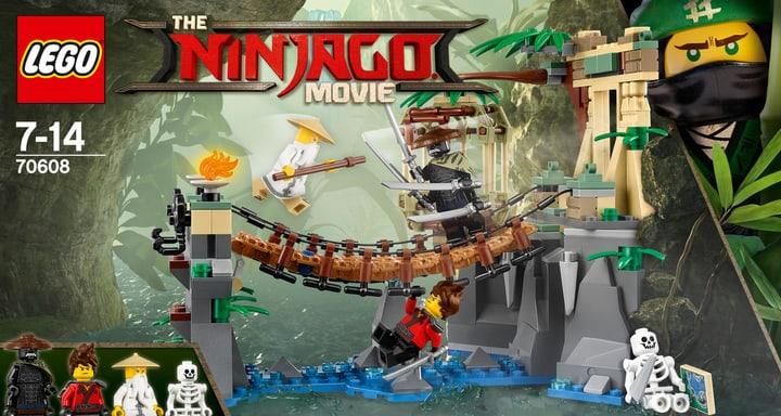 Lego Ninjago Le pont de la jungle 70608