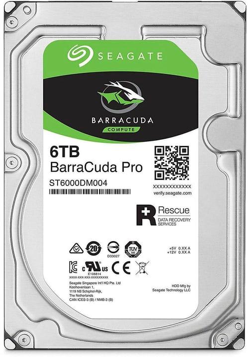 "BarraCuda Pro SATA 3.5"" 6 TB Disque Dur Interne HDD Seagate 785300145865 Photo no. 1"