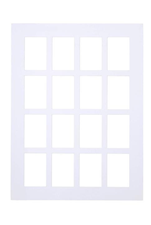 ANTATOL Passepartout 439005106010 Farbe Weiss Grösse B: 60.0 cm x T: 0.1 cm x H: 80.0 cm Bild Nr. 1