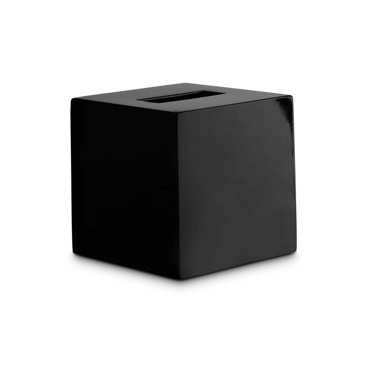ALIZA Kleenexbox 374097600000 Grösse B: 14.0 cm x T: 14.0 cm x H: 14.0 cm Farbe Schwarz Bild Nr. 1