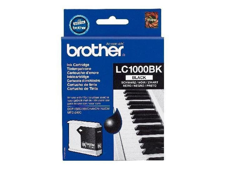 LC1000 black Cartouche d'encre Brother 797483900000 Photo no. 1