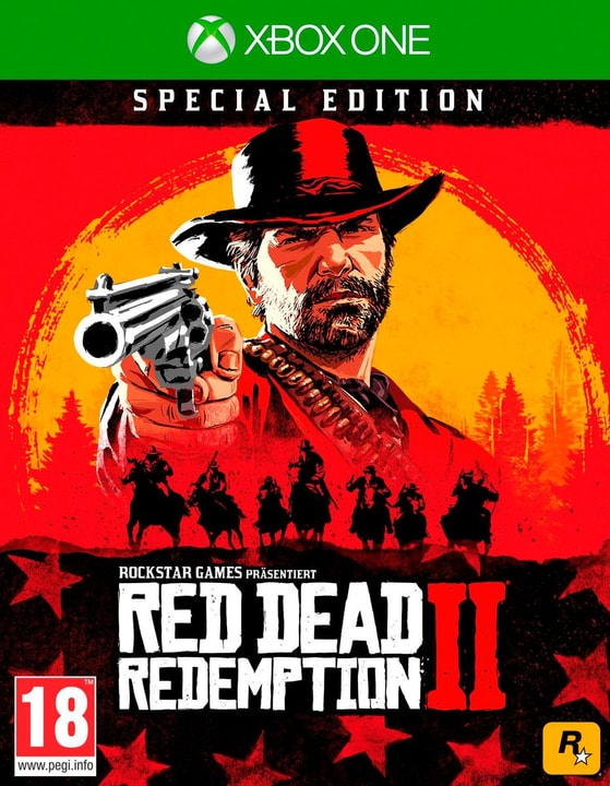 Xbox One - Red Dead Redemption 2 - Special Edition (D) Box 785300139003 Langue Allemand Plate-forme Microsoft Xbox One Photo no. 1