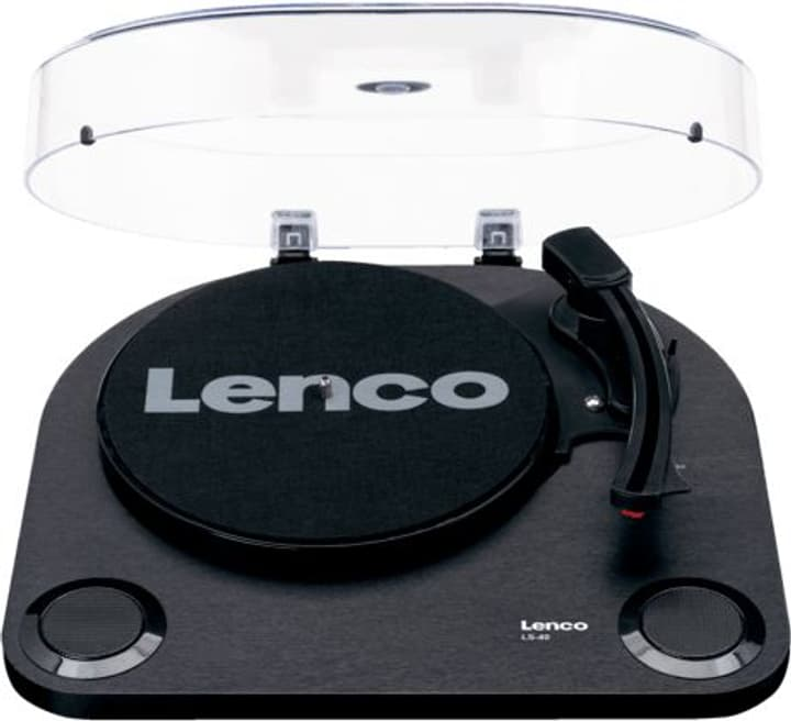 LS-40 - Schwarz Plattenspieler Lenco 785300148624 Bild Nr. 1