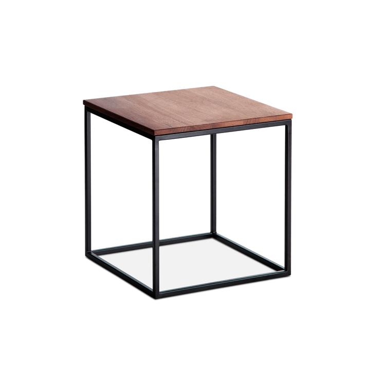 COFFEE table d'appoint 362227600000 Colore Noce Dimensioni L: 35.0 cm x P: 35.0 cm x A: 36.0 cm N. figura 1